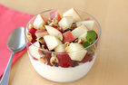 Apple-Berry Yogurt Bowl