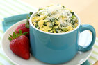 Kale & Cheese Egg Mug