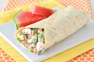 Chicken Cobb Wrap