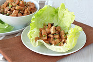 Chicken & Shrimp Lettuce Wraps