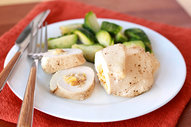 Apple and Onion Stuffed Chicken