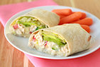 Tuna Avocado Wrap