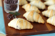 Chocolate Mini Croissants