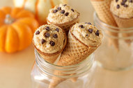 Pumpkin Pie Cannoli Cones