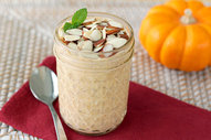Pumpkin Flax Overnight Oats