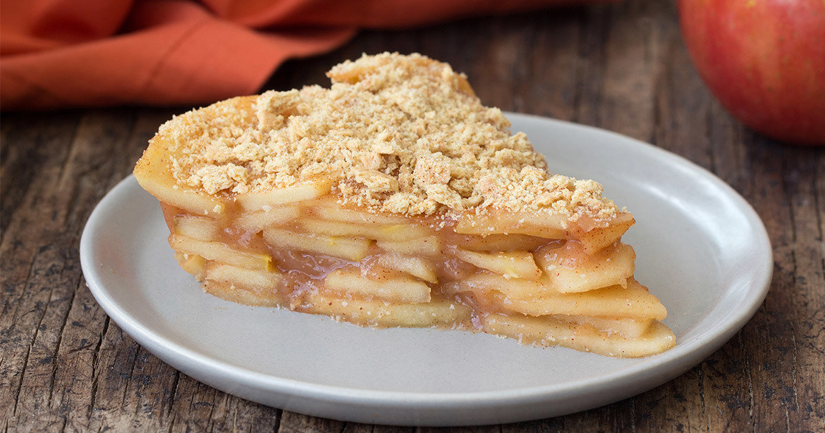 Healthy Upside Down Apple Pie Recipe