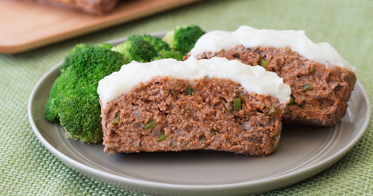 Healthy Father's Day Recipes: BBQ Meatloaf & Mashies ...