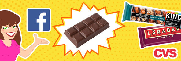 3 Things You Need to Know: Facebook Change, Fat-Zapped Chocolate, CVS Cuts Back Candy