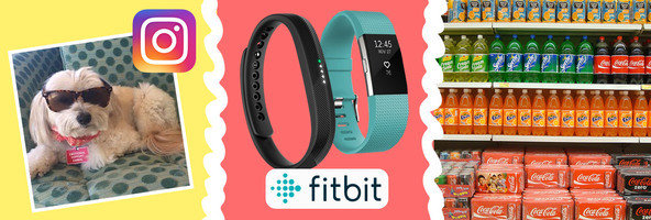 Things to Know: Lolly on Instagram, Fitbit Charge 2 & Flex 2, Where Your Junk Food Comes From