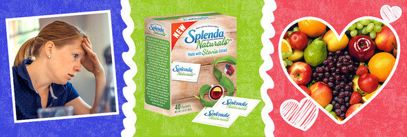 Stress Health Connection, Splenda's New Natural Sweetener & Fruit for Your Heart