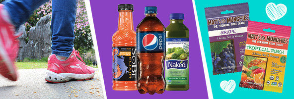 Things to Know: Walking for Health, PepsiCo to Cut Calories, New Matt's Munchies Flavors