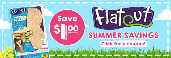 Save on Flatout Exclusive Hungry Girl Foldit Flatbreads