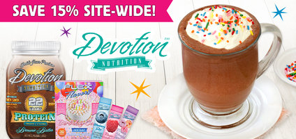 Devotion Nutrition Flex Flavors, Protein Powders & Cocoa Recipe: 15% Off