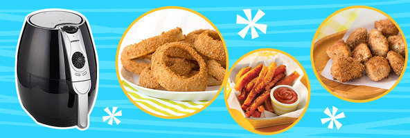 All About Air Fryers: Fried Food with Less Fat