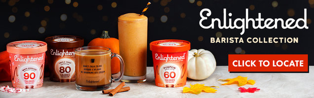 This Season's Must-Have: Enlightened Barista Collection Ice Cream!