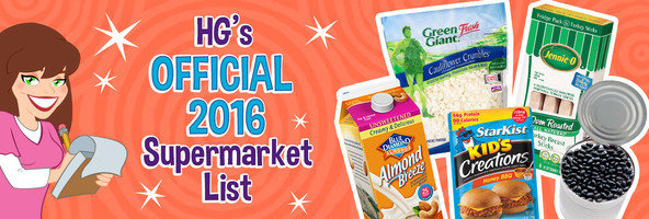 HG's 2016 Healthy Supermarket List