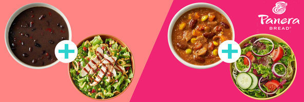 Panera Bread's Clean Pairings Menu, with 500 Calories or Less