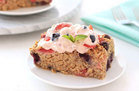 Healthy Blueberry Strawberry Oatmeal Bake Recipe