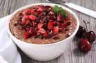 Healthy Black Forest Oatmeal Recipe