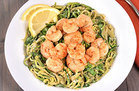 Healthy Zucchini Spaghetti with Shrimp Recipe