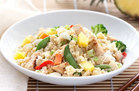 Healthy Hawaiian Chicken Cauliflower Fried Rice Recipe