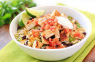 Healthy Cauliflower Rice Burrito Bowl Recipe