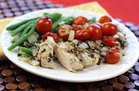 Healthy Herb Chicken Foil Pack Recipe