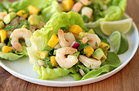 Healthy Shrimp & Avocado Lettuce Tacos Recipe