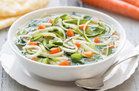 Healthy Slow-Cooker Veggie Soup Recipe