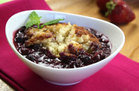 Healthy Slow-Cooker Berry Cobbler Recipe