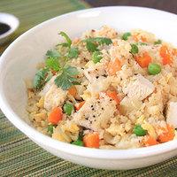 Healthy Cauliflower Fried Rice with Chicken Recipe