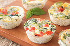 Roasted Veggie Egg Muffins