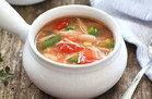 Chicken No-Noodle Soup