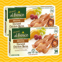 Al Fresco Fully Cooked Original Uncured Chicken Bacon