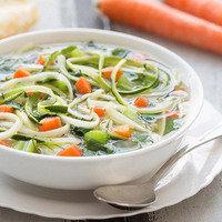 Healthy Slow-Cooker Recipes: Slow-Cooker Veggie-Noodle Soup