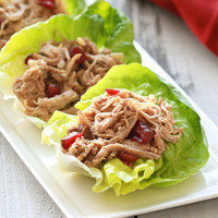 Healthy Slow-Cooker Recipes: Slow-Cooker Cranberry Pulled Pork