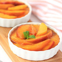 Healthy Slow-Cooker Recipes: Slow-Cooker Scalloped Peaches