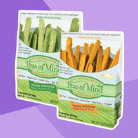 Natural Food & Drink Finds: Peas of Mind Veggie Wedges