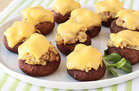Tuna Melt Stuffed Mushrooms