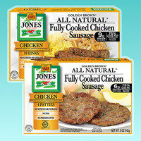 Jones All Natural Fully Cooked Chicken Sausage