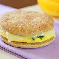 5 Ingredient Meals: Cheesy Veggie-Boosted B-fast Sandwich