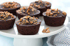 Mini PB Chocolate Cakes