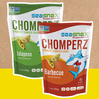SeaSnax Chomperz Crunchy Seaweed Chips