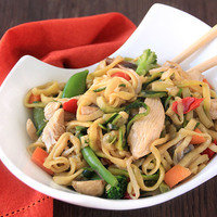 Low-Carb Meals: Zucchini So Low Mein with Chicken