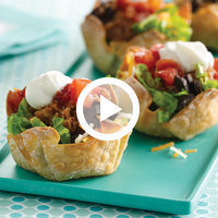 HG's Top 6 Healthy Recipe Videos: Tiny Taco Salads 2.0