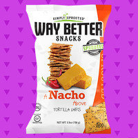 Way Better Snacks A Nacho Above Tortilla