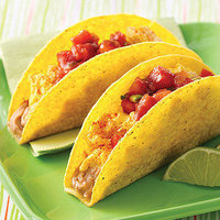 Healthy Breakfast in 10 Minutes or Less: Breakfast Fiesta Crunchy Tacos