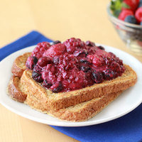 Healthy Breakfast in 10 Minutes or Less: PB&J French Toast