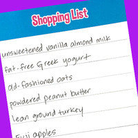 Food-Shopping Mistakes: Not making a list