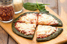 Spinach-Crust Pizza